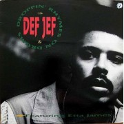 "Def Jef - Droppin' Rhymes On Drums / God Made Me Funky, 12"", 33 ⅓ RPM"