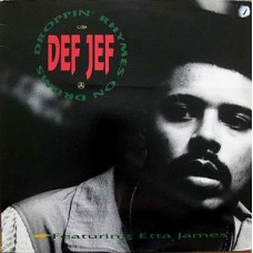 """Def Jef - Droppin' Rhymes On Drums / God Made Me Funky, 12"""", 33 ⅓ RPM"""