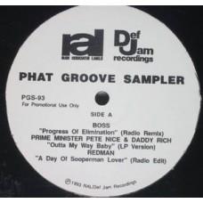 "Various - Phat Groove Sampler, 12"", EP"
