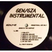 GEN/GZA - Beneath The Surface (Instrumentals), Promo