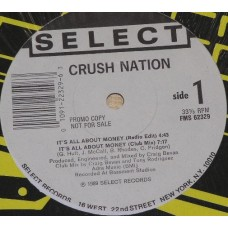 """Crush Nation - But I Was Cool, 12"""", Single, Promo"""