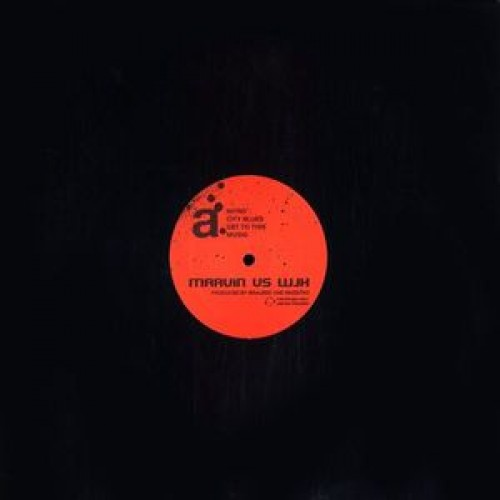 "Waajeed & The Jazz Katz - Marvin vs WJK, 12"", 33 ⅓ RPM, Limited Edition, Promo"
