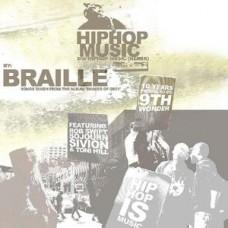 "Braille - Hip Hop Music, 12"", 33 ⅓ RPM"