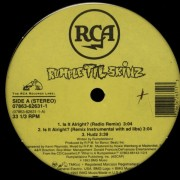"Rumpletilskinz - Is It Alright?, 12"", 33 ⅓ RPM"