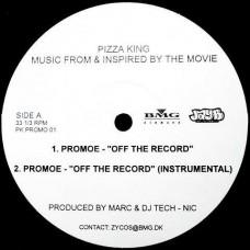 "Promoe / Creative - Off The Record / Subdo The Mic, 12"", Promo"