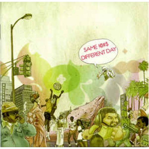Lyrics Born - Same !@#$, Different Day, 2xLP, Album