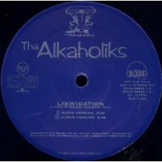 """Tha Alkaholiks - Likwidation, 12"""", Promo"""