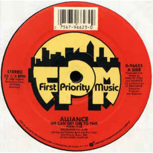 Alliance - We Can Get Use To This / Ready Set, 12""