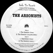 "The Arsonists - The Session, 12"", 33 ⅓ RPM"
