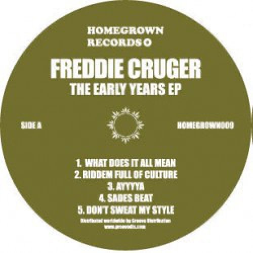 """Freddie Cruger - The Early Years EP, EP, 12"""", 33 ⅓ RPM"""