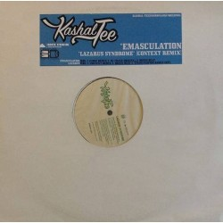 "Kashal-Tee - Emasculation, 12"", Single, 33 ⅓ RPM, Repress, Limited Edition"