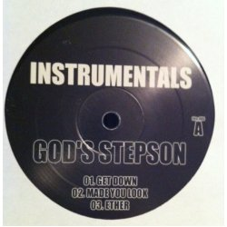 9th Wonder & Nas - God's Stepson Instrumentals, 2xLP, Unofficial Release