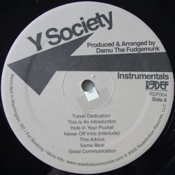 Y Society - Travel At Your Own Pace (Instrumentals), LP, Album, Limited Edition