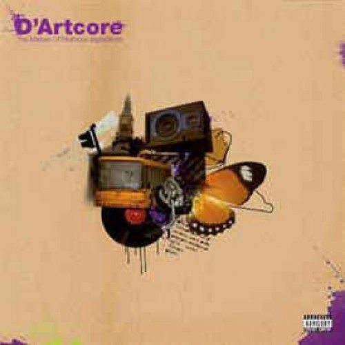 D'Artcore - The Mixture Of Mutinous Ingredients, 2xLP