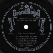 "Biz Markie - A Message From The Biz, 7"", 33 ⅓ RPM, Single Sided"