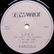 "Kanzulu - A.F.R.O. (Air Freely Rare Origins), 7"", 33 ⅓ RPM"