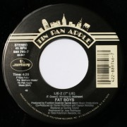 """Fat Boys - Lie-Z / On And On, 7"""", 45 RPM"""