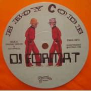 "DJ Format - B Boy Code, 12"""