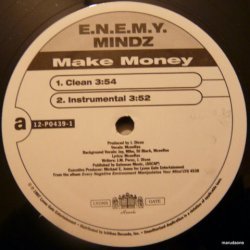 E.N.E.M.Y. MINDZ - Make Money / Mind On My $, 12""