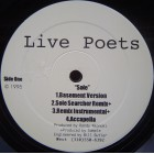 Live Poets - Sole / Ain't No Thing / Live Poetry, 12""