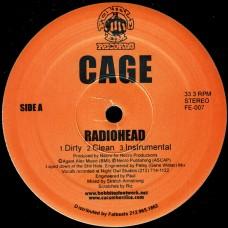 """Cage - Radiohead, 12"""", 33 ⅓ RPM, Reissue"""