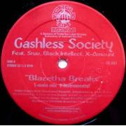 "Cashless Society / Mizchif - Blazetha Breaks / Place For A Wife, 12"", 33 ⅓ RPM"