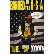 Luke featuring The 2 Live Crew - Banned In The U.S.A., Cassette, Album