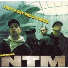 """Supreme NTM - Tout N'est Pas Si Facile, 12"""", 45 RPM, Maxi-Single, Reissue"""