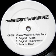 Da Beatminerz - Open, 12""