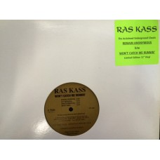 "Ras Kass - Won't Catch Me Runnin' / Remain Anonymous, 12"", Limited Edition, Promo"