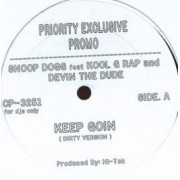 "Snoop Dogg - Keep Goin, 12"", Promo, Single"