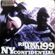 """The Sqwad Productions : Large Professor & Neek The Exotic / Masta Ace - Rhyme Mania '99 / NY Confidential, 12"""", 33 ⅓ RPM"""