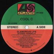 "Cool C - Glamorous Life, 12"", 33 ⅓ RPM, Promo"