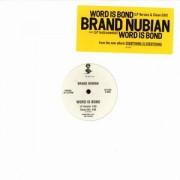 "Brand Nubian - Word Is Bond, 12"", Promo"