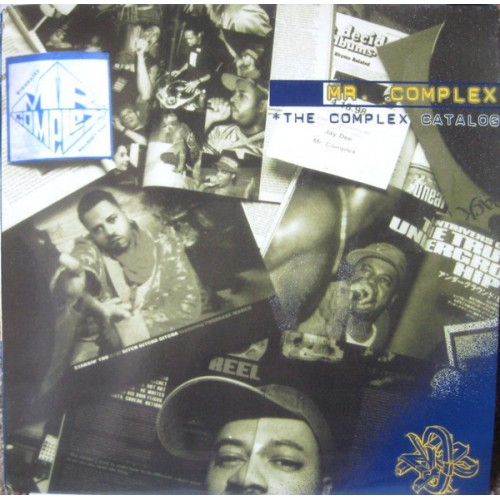 Mr. Complex - The Complex Catalog, 2xLP, Album, Partially Mixed