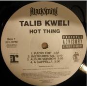 """Talib Kweli - Hot Thing / Say Something, 12"""", Promo"""