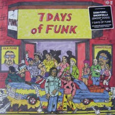 7 Days Of Funk (Snoop Dogg & Dam-Funk) - 7 Days Of Funk, LP