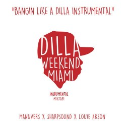 J Dilla - Bangin' Like A Dilla Instrumental, 2xLP
