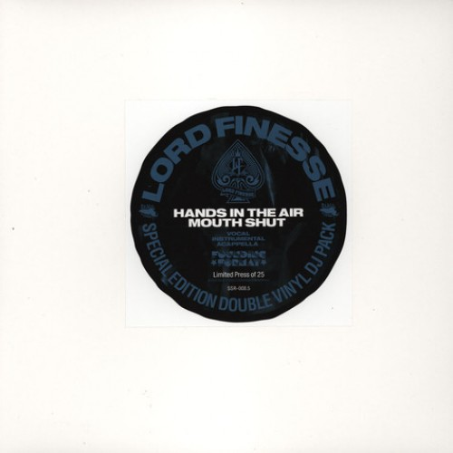 """Lord Finesse - Hands In The Air, Mouth Shut (Remastered), 2x12"""""""