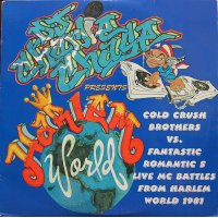 D.J. Charlie Chase Presents Cold Crush Brothers Vs. Fantastic Romantic 5 - Cold Crush Brothers Vs. Fantastic Romantic 5 Live Mc Battles From Harlem World 1981, 2xLP