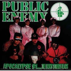 Public Enemy - Apocalypse 91... The Enemy Strikes Black, 2xLP
