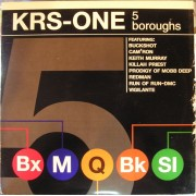KRS-One - 5 Boroughs, 12""