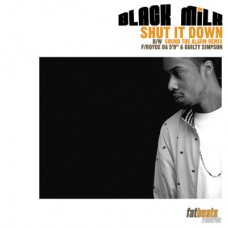 Black Milk - Shut It Down, 12""