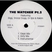 "Dr. Dre - The Watcher Pt. 3 / Then She Got It, 12"", White Label"