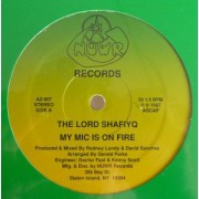 """The Lord Shafiyq - My Mic Is On Fire / Kool Kat, 12"""", Reissue"""