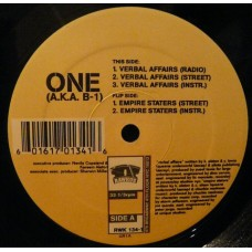 """One A.K.A. B-1 - Verbal Affairs / Empire Staters, 12"""""""