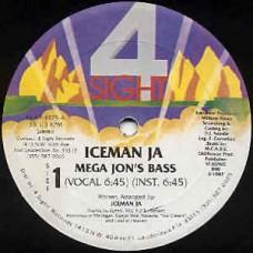"""Iceman Ja - Mega Jon's Bass, 12"""""""