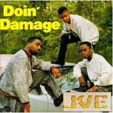 J.V.C. F.O.R.C.E. - Doin' Damage, LP, Reissue
