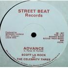 "Scott La Rock & The Celebrity Three - Advance, 12"""