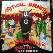 "Critical Madness - 1st Amendment / Dropped, 12"", Promo"